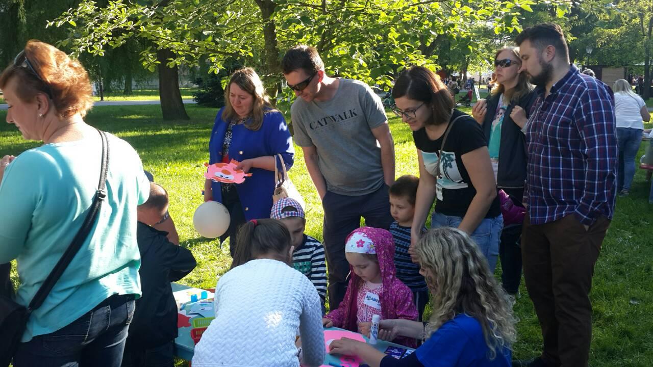 День семьи в парке Жилибера