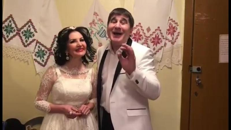 Поздравление от звезд татарской и башкирской эстрады Зульфии и Жавита Шакировых