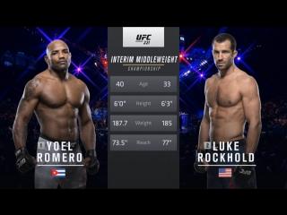 UFC 221 Yoel Romero vs Luke Rockhold