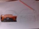 """Форсаж 3 """"Токийский Дрифт"""" рисунок карандашами"""
