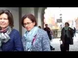 Уличные музыканты играют Пьяццоллу. Гданьск.