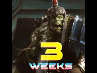 Marvel studios - 3 weeks until thor ragnarok