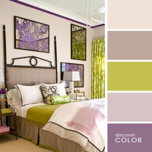 Цветовые палитры.
