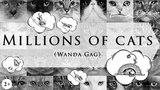 Миллионы кошек   Ванда Гаг   На английском языке с субтитрами   Классическая американская сказка