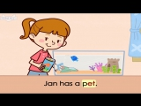 Word Families 10- A Wet Pet - Level 1 - By Little Fox