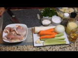 КУРИНЫЙ СУП. Вкусный Домашний Обед! Просто, но с Изюминкой. Американская Кухня. Chicken Soup