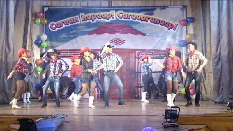 Ковбойский танец 1982