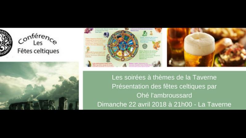 [PROBLEME DE SON vers 28 ème minut] Agir ensemble - Conférence du 22 avril 2018 Présentation des fêtes celtiques par jépéto 79