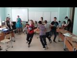Ребята показывают, что будут делать, если все 6 уроков заменят физкультурой! :))