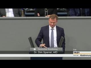 Dirk spaniel(afd) bringt die grünen gemüter zum