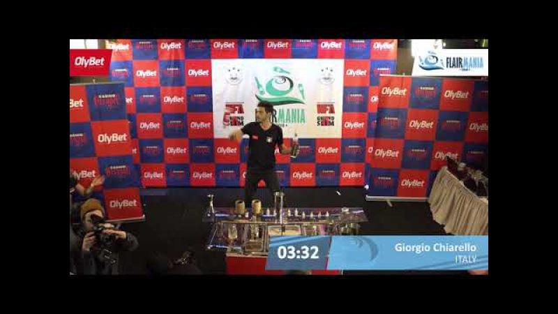 Giorgio Chiarello Final OlyBet Flair Mania 2018