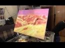 Пустыня маслом, уроки живописи для начинающих, Сахаров