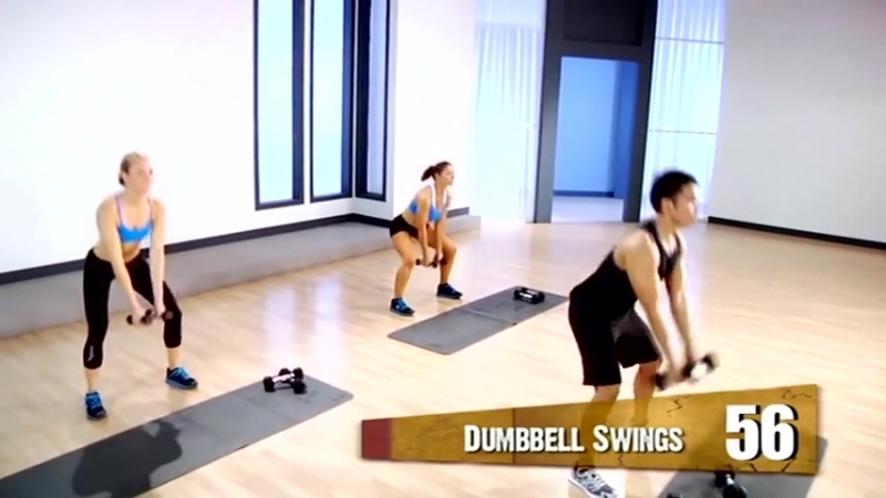 Mike Donavanik Total Body Interval Training Workout 1