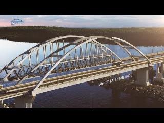 Крымский(январь 2018)мост! Началась надвижка на ж/д опоры пролётов моста! Комментарий специалиста!
