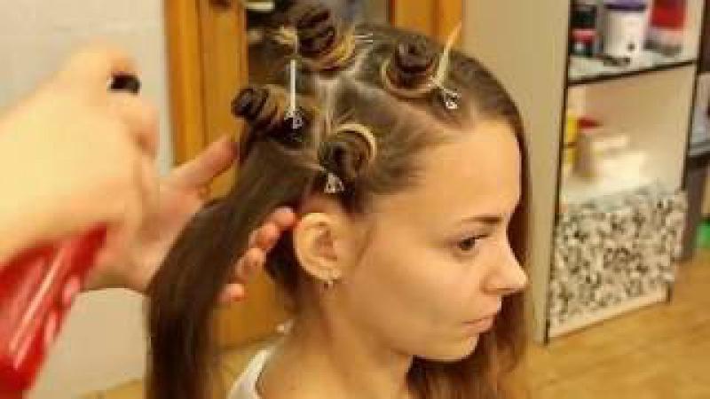 Кудри/Локоны без плойки и бигуди | Кудри без вреда для волос | Heatless curls