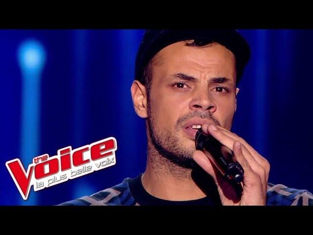 Zazie J'envoie valser Jacques Rivet The Voice France 2015 Blind Audition