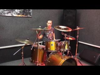 Ludmila Malaya (Selenseas) - Testing New Drums ZILDJIAN S FAMILY ROCK CYMBAL SET