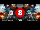 SGL Challenger 8 Speedman4 VS Fidus eSports