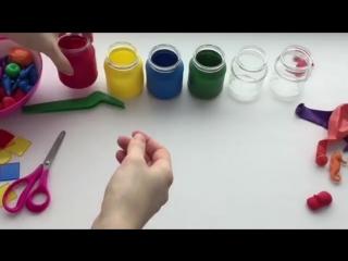 Учим цвета с детьми ~умная мама~