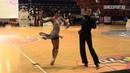 Artyom Liaskovsky Ksenia Zaputriaeva Cha Cha Cha presentation IDSF Latin National Championship