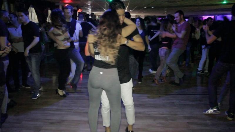 Maxi and Angelina @Social Sensual bachata dance Solo Quise Quererte
