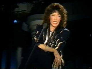 Lily Tomlin comedy monologue - Lucille the Rubber Freak
