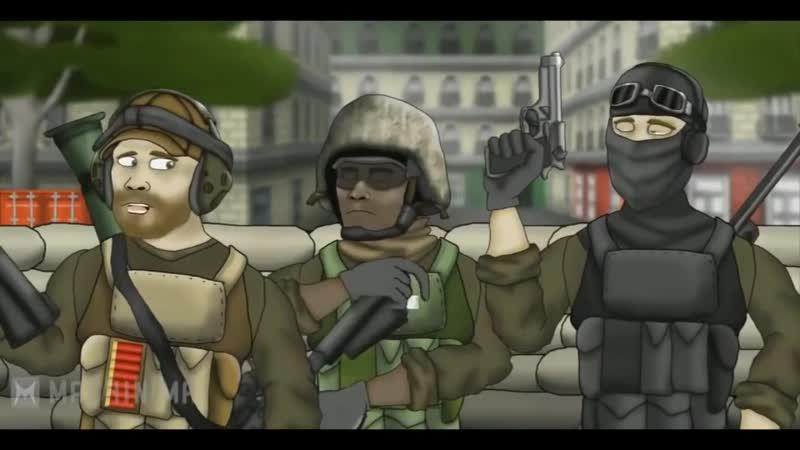 Друзья по Battlefield Весь 1 сезон Battlefield Friends