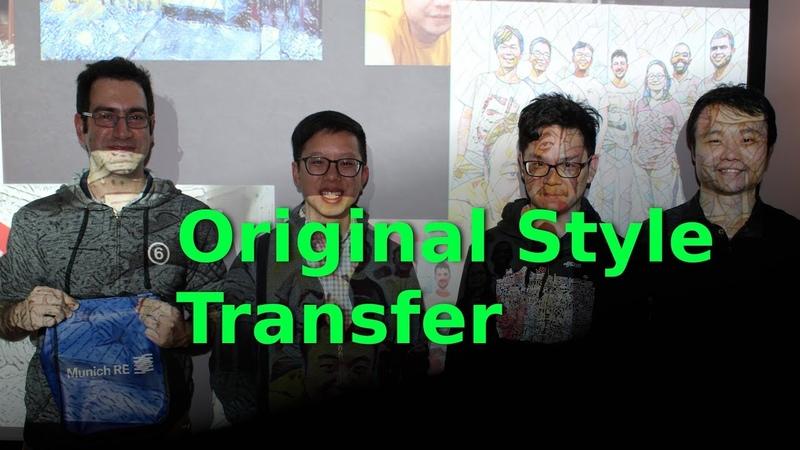 Original Style Transfer A Neural Algorithm of Artistic Style TDLS Foundational