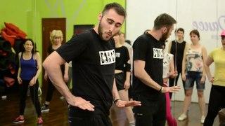 Реггетон в Москве для начинающих с Никитой Таскаевым. Школа танцев Ritmo Dance.