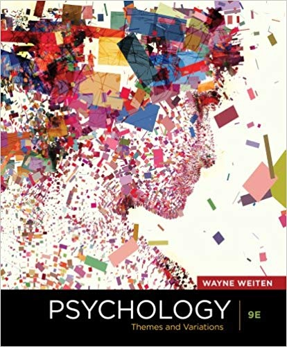 Psychology Themes and Variations, 9th Edition
