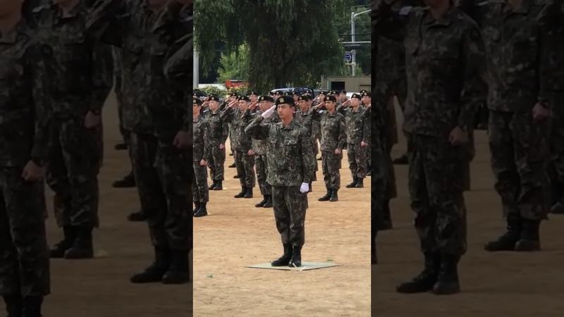 Platoon Leader Ok Taecyeon   9사단 백마부대 수료식 조교 옥택연