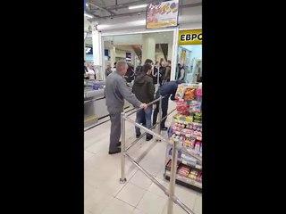 Драка  в Ярославле в торговом центре