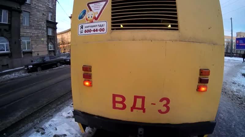 Эксклюзивный новогодний панос служебного КТМ-5 (ВД-3) в Питере!