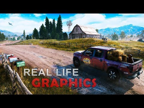 Far Cry 5 Real Life Graphics SweetFX ENB 60 FPS