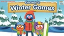 Sesame Street: Grover's Winter Games   Play Fun Games For Kids   Kids TV Channel