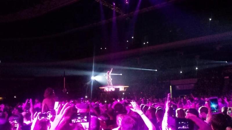 01.05.2017г. Концерт KISS в Москве. Полёт Пола Стэнли.