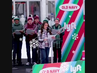 HOLIDAY YOUR️OUT with Old Navy, @lyft @LeaMichele! - Were making your holiday shopping the easiest its ever been  Saturd