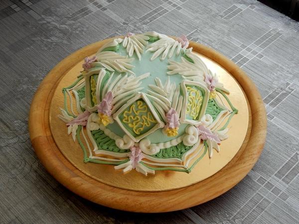 УКРАШЕНИЕ ТОРТОВ Торт в Мароканском стиле Cake decoration
