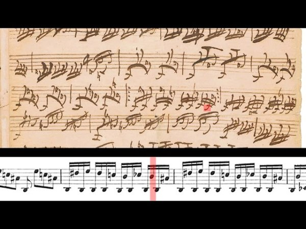 598 J S Bach Pedal Exercitium BWV 598 Gerubach scrolling