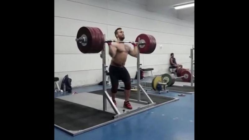 Arley Mendez 225 кг