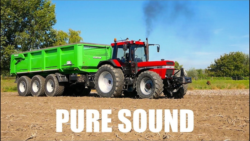 CASE IH 1455 The noise of Neuss - Pure Sound   Carting Potatoes   Farm Frites / Wouter vd Berg