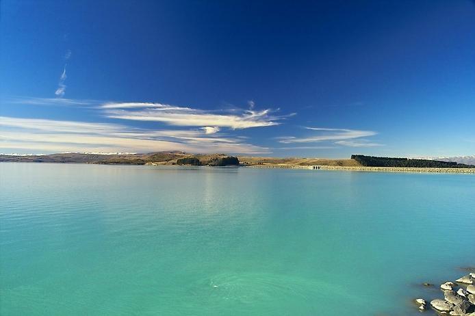 Озеро Пукаки в Новой Зеландии, изображение №3