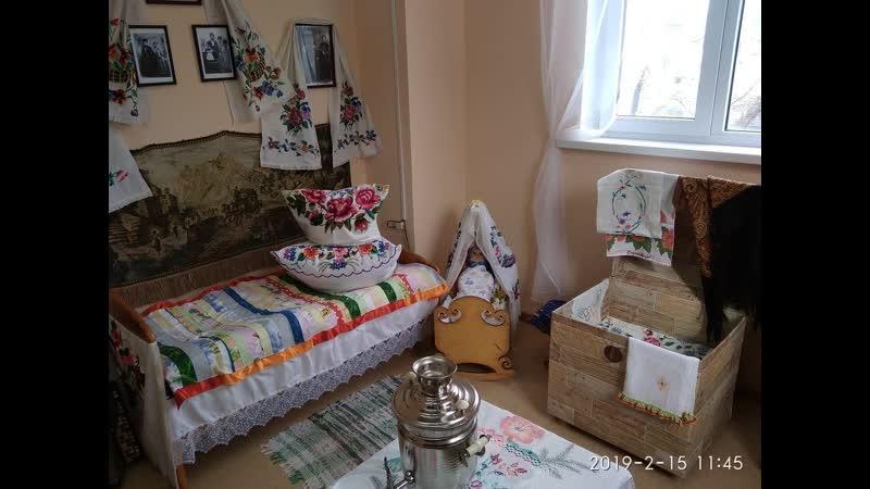 В д с №22 Голубок открылся мини музей Казачья горница