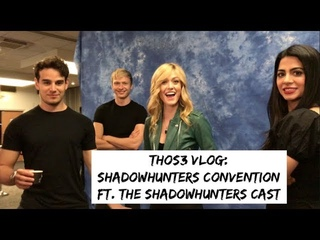 Интервью: THOS3 VLOG: SHADOWHUNTERS CONVENTION ft The Shadowhunters Cast [Париж]