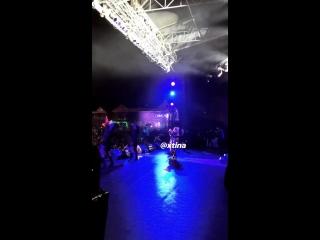 Christina aguilera fall in line (curacao north sea jazz festival)