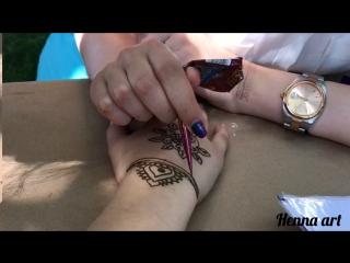 Henna art | mehndi on hand | мехенди на руке