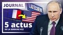 Déficit Services publics Europe Monde Francophonie Les 5 actus de la semaine 22