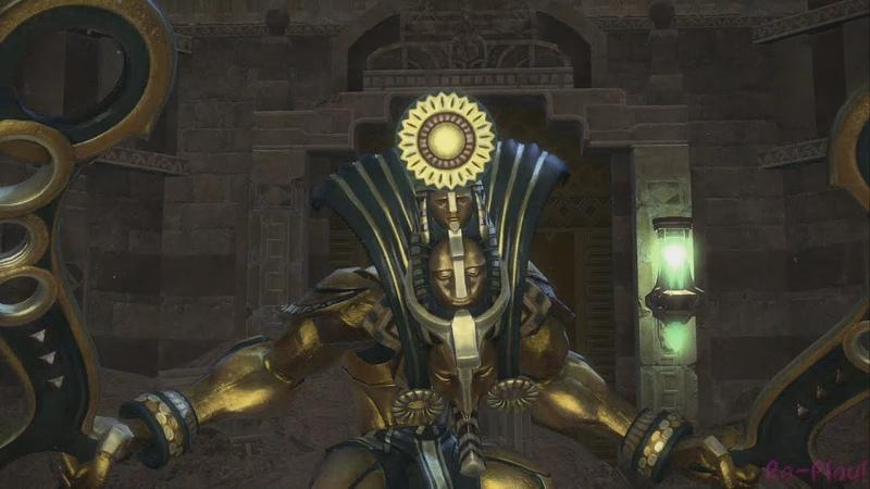 Sunken Temple of Qarn HM LvL 50 FFXIV Patch 2 4 Dreams of Ice Dungeon Cutscenes