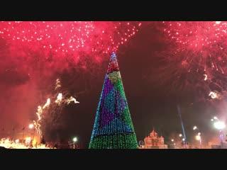 Феиерверк в Новогодней столице