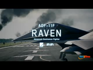 Ace Combat 7  Skies Unknown - ADF-11F Raven Aircraft Trailer